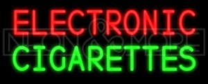 Electronic Cigarettes Neon Sign